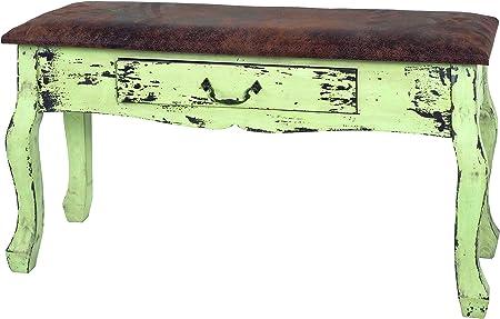 Haku Mobel 27981 Bench In Vintage Style 80 X 30 X 47 Cm Amazon Co Uk Kitchen Home