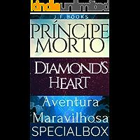 BOX 4 LIVROS: PRÍNCIPE MORTO, GRANDE AVENTURA E DIAMOND'S HEART