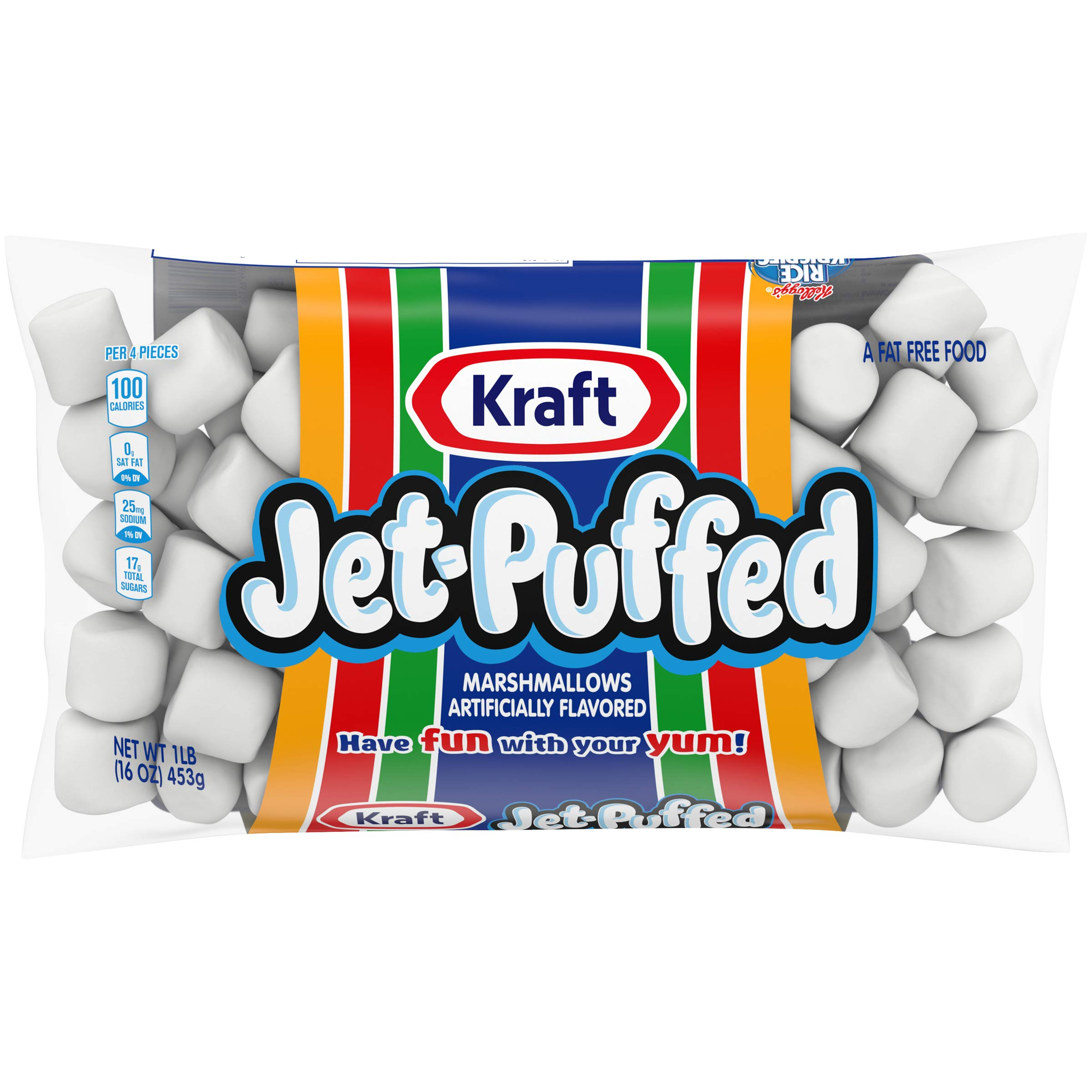 Jet-Puffed Marshmallows (16 oz Bags, Pack of 12)