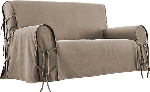 Home Style Francia Funda de sofá, algodón, 90 x 206 x 1 cm ...