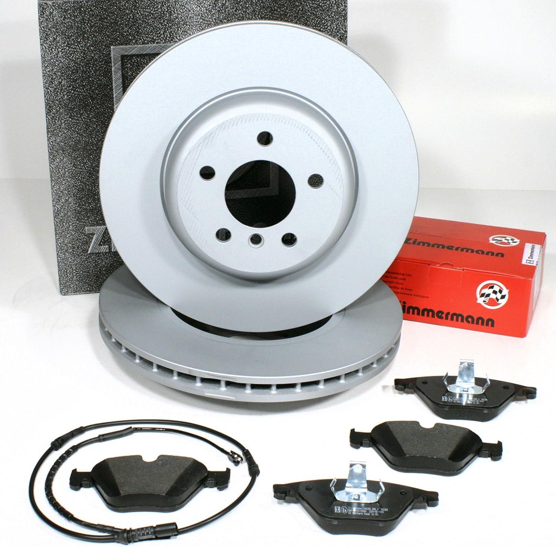 Zimmermann Bremsscheiben 348 Mm X 30 Mm Coat Z Bremsen Bremsbeläge Warnkabel Für Vorne Für Die Vorderachse Auto
