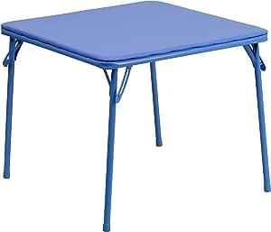 Cosco Kids Vinyl Top Table Blue Renewed