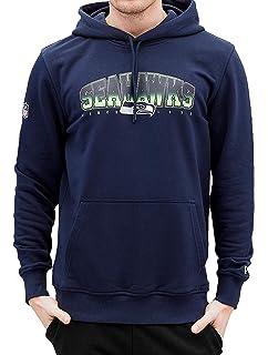 c4abb648e New Era Men Bomber Jackets Melton Seattle Seahawks  Amazon.co.uk ...