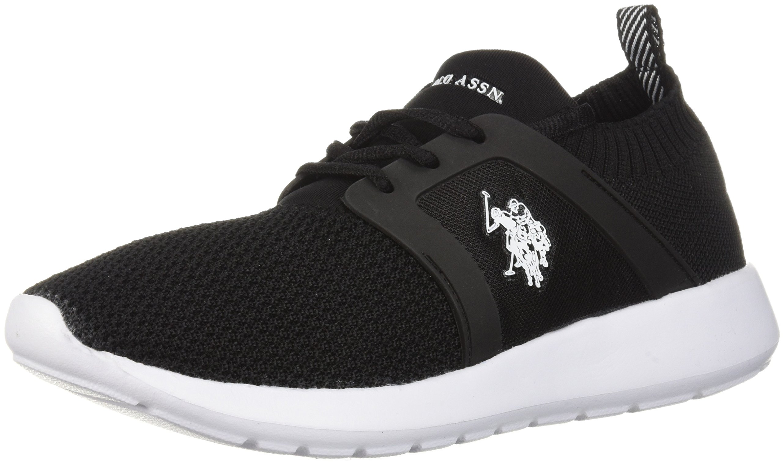 U.S. Polo Assn. Women's Women's Aeris-K9 Oxford, Black, 8 Medium US