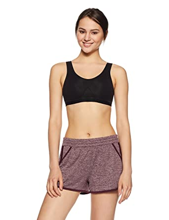 Jockey Women's Cotton Slip On Active Bra Women's Everyday Bras at amazon