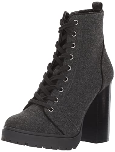 Steve Madden Women's Laurie Ankle Bootie, Grey Flannel, ...