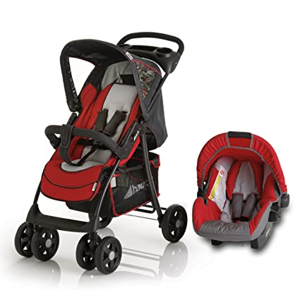 Hauck Shopper Shop N Drive - Carrito para bebé, color rojo: Amazon ...