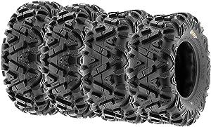 Set of 4 SunF Power.I ATV UTV all-terrain Tires