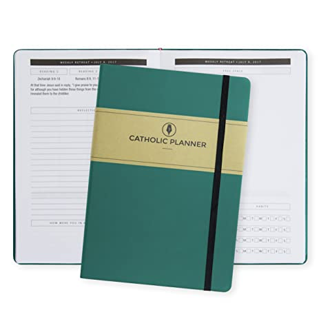 catholic planner academic and faith tool organizer prayer journal agenda for students