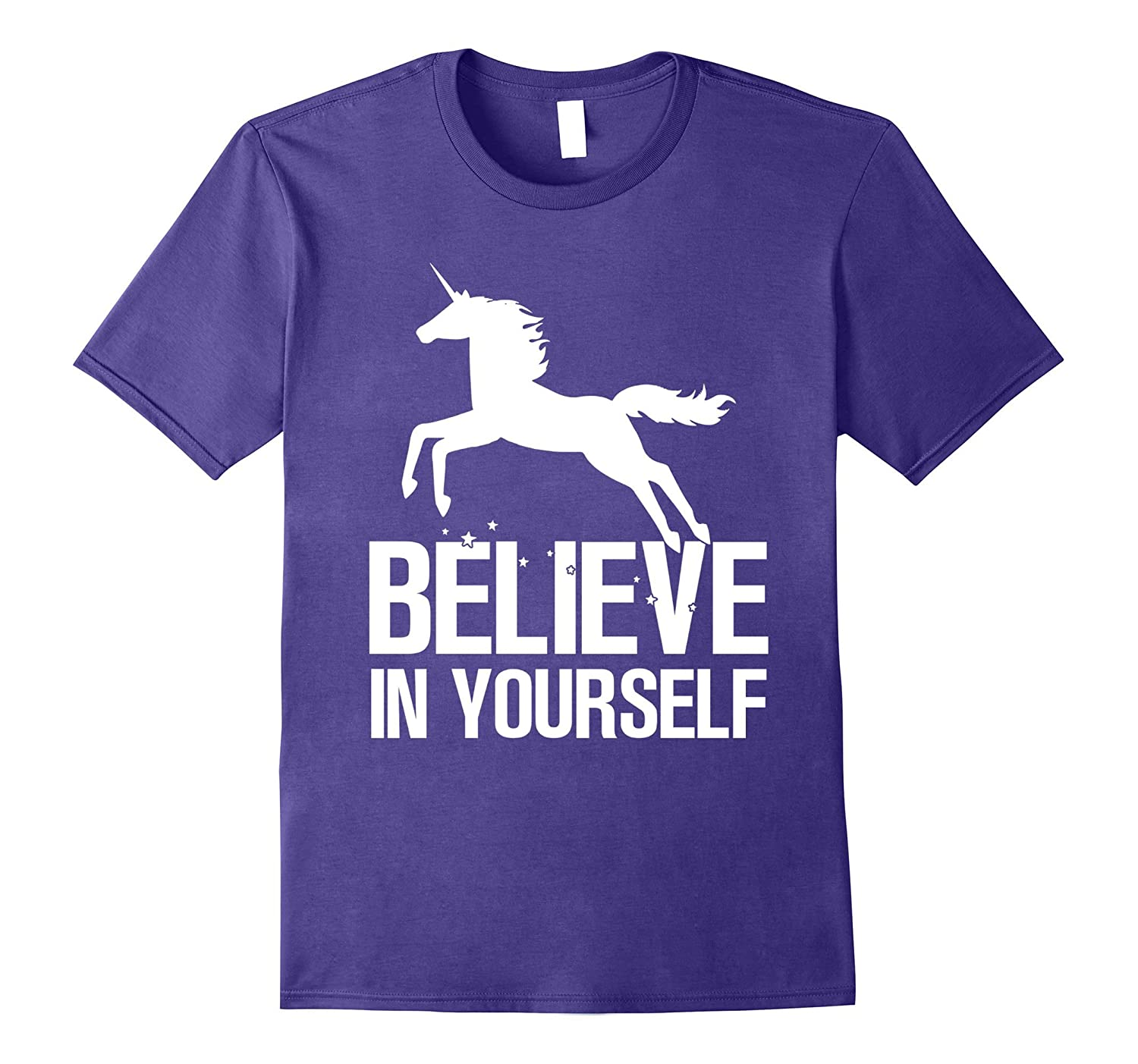 Believe in Yourself Unicorn Youth Teen T Shirt-CD
