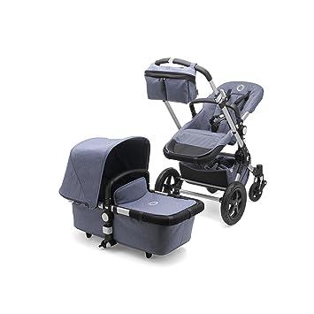Bugaboo Cameleon 3 >> Bugaboo Cameleon3 Complete Stroller Blue Melange Versatile Foldable Mid Size Stroller With