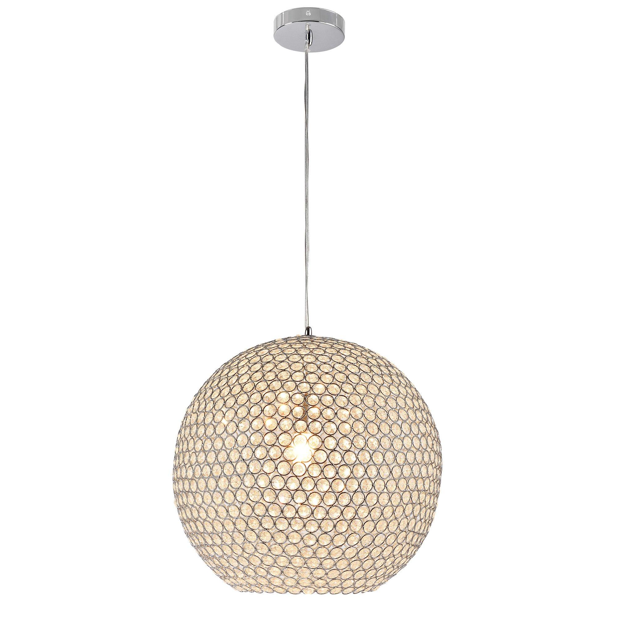 [lux.pro] Lámpara colgante - Nueva colección - Crystal (E14) Iluminación