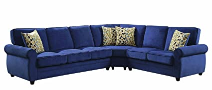 Amazon.com: Coaster Home Furnishings 501545 Living Room Sectional ...