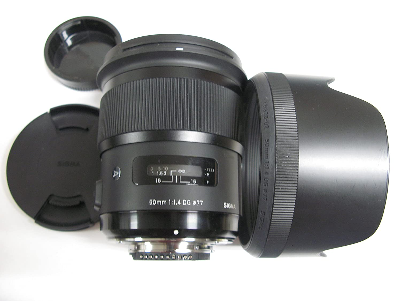 Sigma 50mm F1.4 DG HSM Art レンズ Nikonカメラ用 - 修正済み - インターナショナルバージョン   B01DFHO1TK