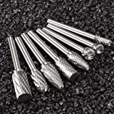 Lljin 8PCS Carbide Burr Set – Die Grinder Burrs