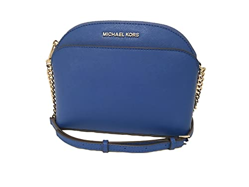 a1e63398157b MICHAEL KORS EMMY ELECTRIC BLUE SAFFIANO LEATHER CROSSBODY BAG: Amazon.in:  Shoes & Handbags
