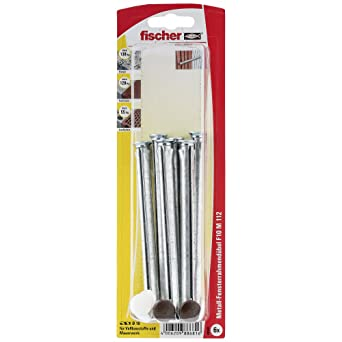 Fischer 88681 - Ventanas de anclaje marco f10 m 112 k sb-tarjeta,