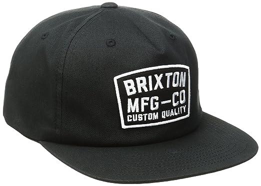 ca6a4e709f Amazon.com  Brixton Men s National Snapback