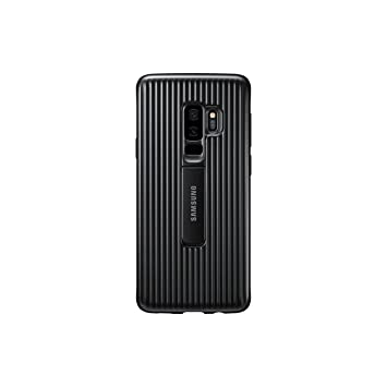brand new c3352 805b3 Samsung Protective Cover Case with Flip-Out Stand for Galaxy S9 Plus -  Black,EF-RG965CBEGWW