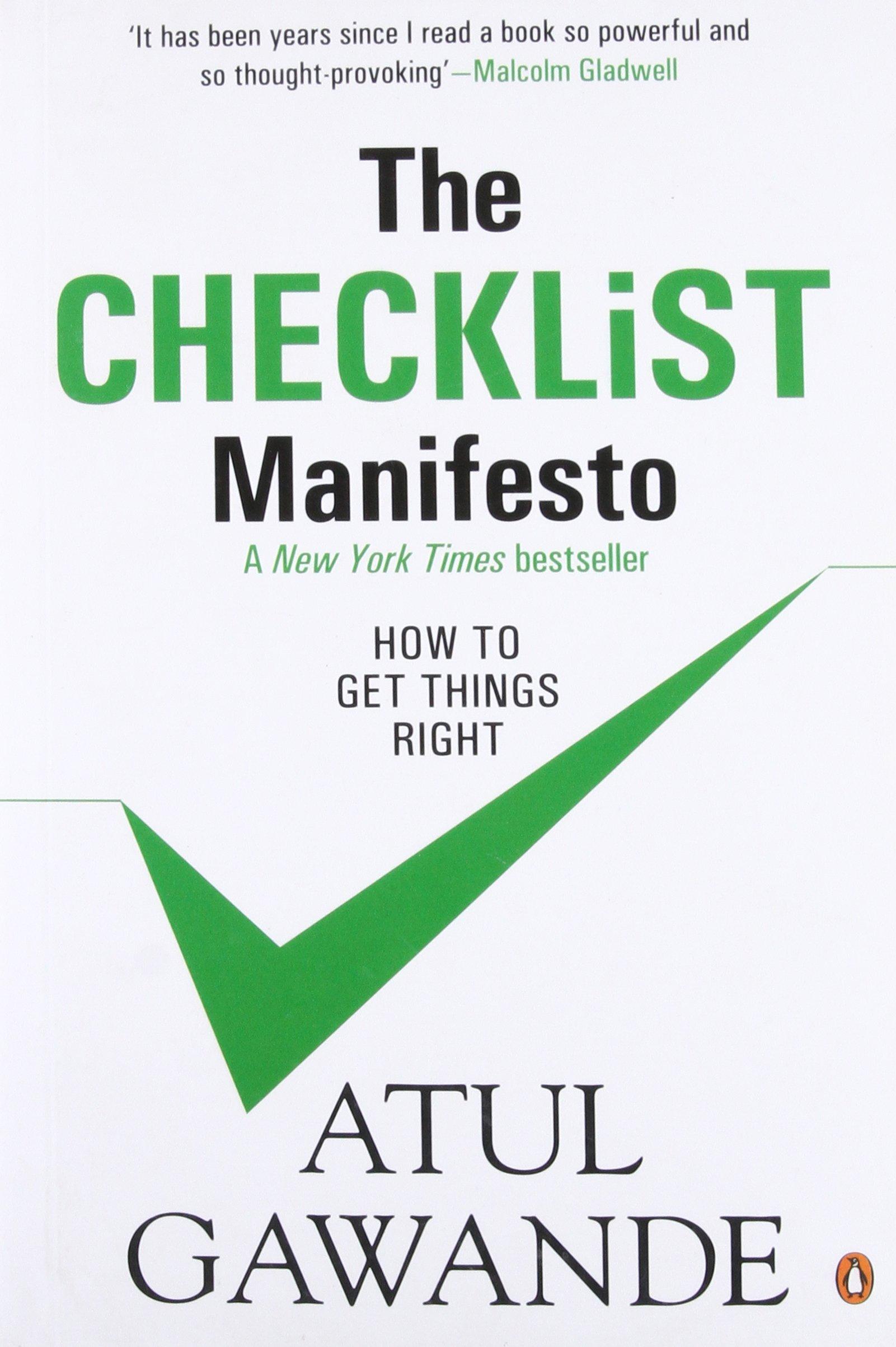The Checklist Manifesto Pdf