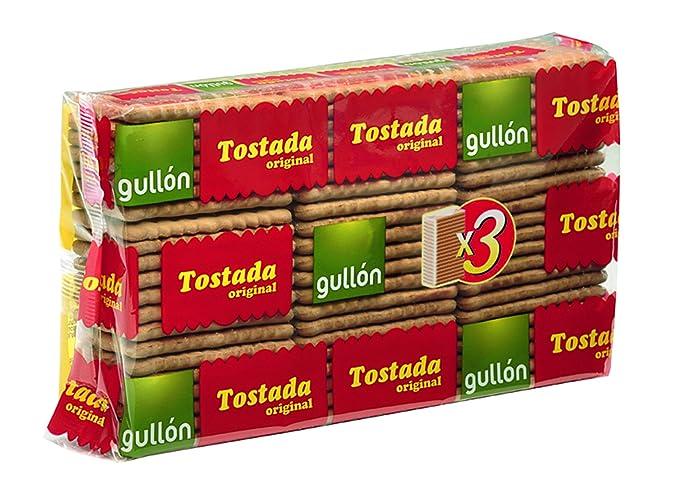 Tostada Gullón - Galleta Paquete - 400 g - , Pack de 6