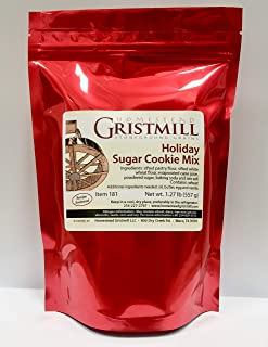 product image for Homestead Gristmill — Non-GMO, Chemical-Free, All-Natural Holiday Sugar Cookie Mix (2 Pack)