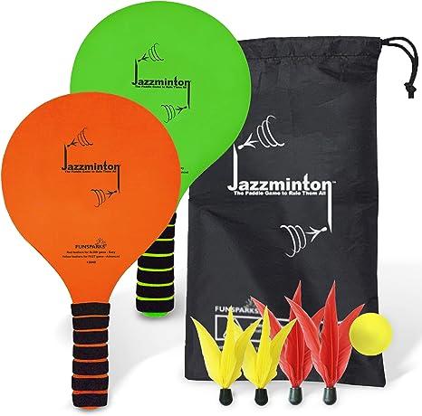 Amazon.com: Funsparks Jazzminton - Juego de pelotas de pádel ...