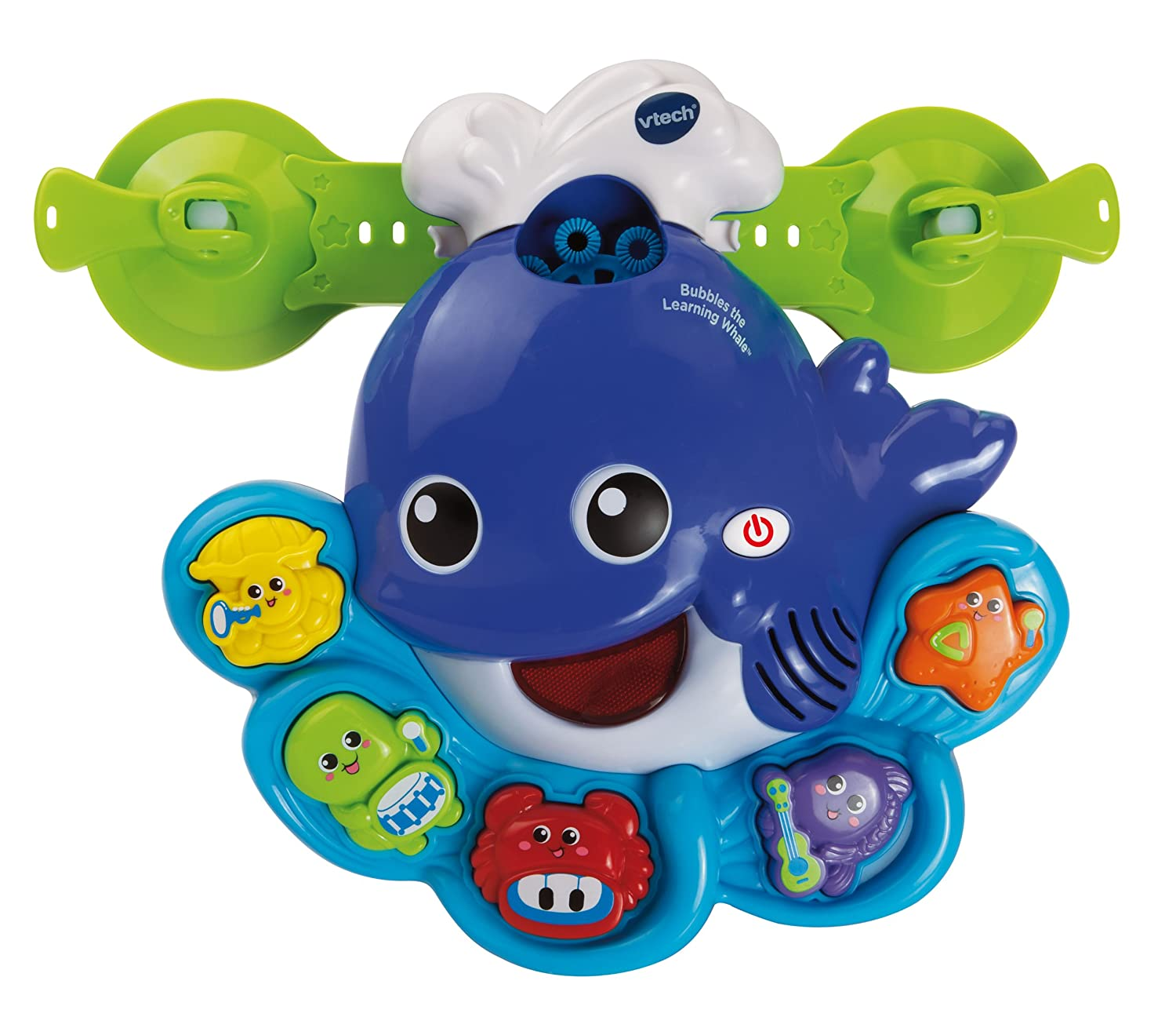 Amazon.com: VTech Sing and Learn Whale Bubble Machine Bath Toy ...