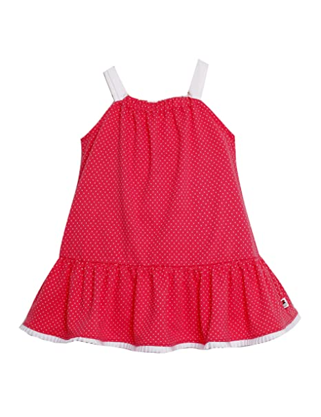 VESTIDO NIÑA rosa coral AMAPOLA _vestido niña tirantes, vestido niña bonito, vestido niña rojo