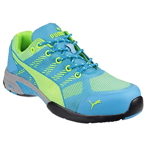 852fbabcf06 Puma Safety Womens/Ladies Celerity Knit Lace up Safety Trainers ...