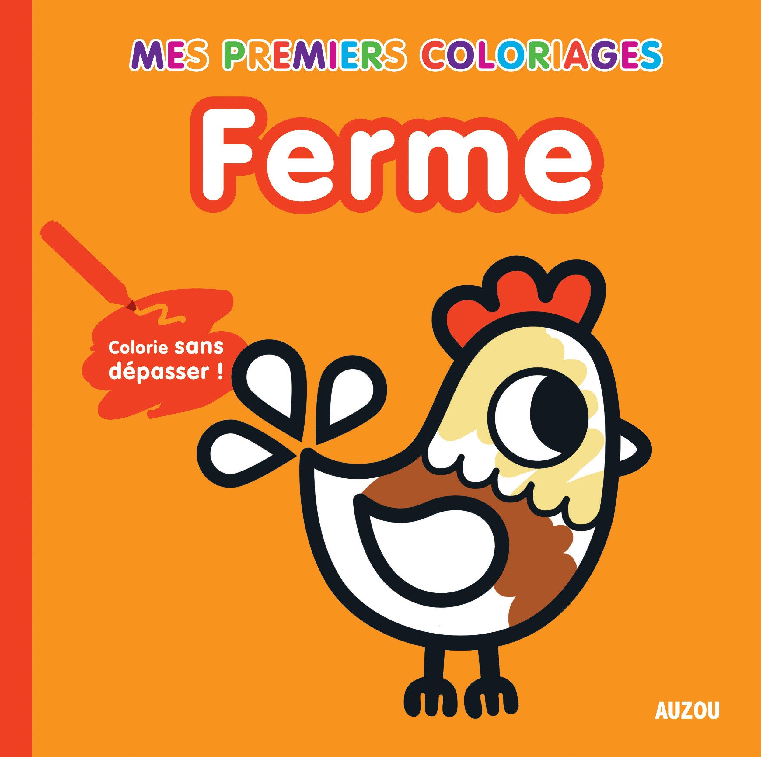 Coloriage Sans Depasser Ferme Amazon Fr Tiago Americo Livres