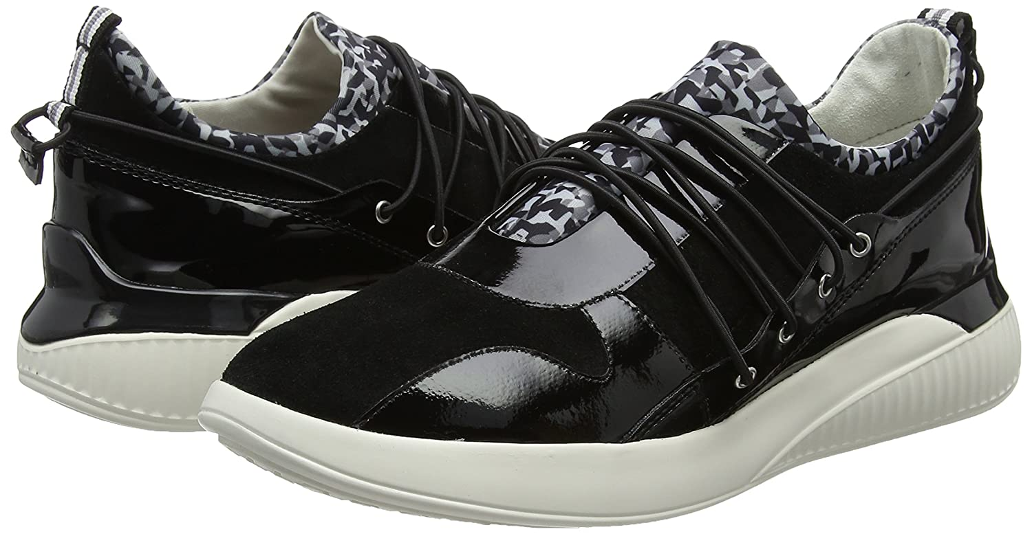 Geox Women/'s D Theragon a Low-Top Sneakers