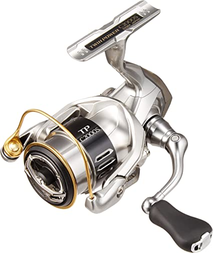 SHIMANO Carretes de Pesca Twin Power 2000 Bobina Shallow Spinning ...
