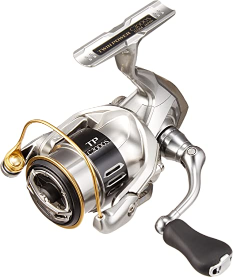 SHIMANO Carretes de Pesca Twin Power 2000 Bobina Shallow Spinning ...