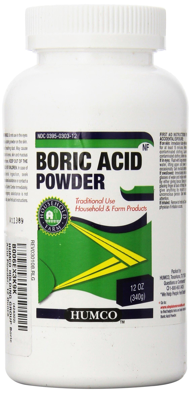 HUMCO HOLDING GROUP Boric Acid Powder, 12 Ounce