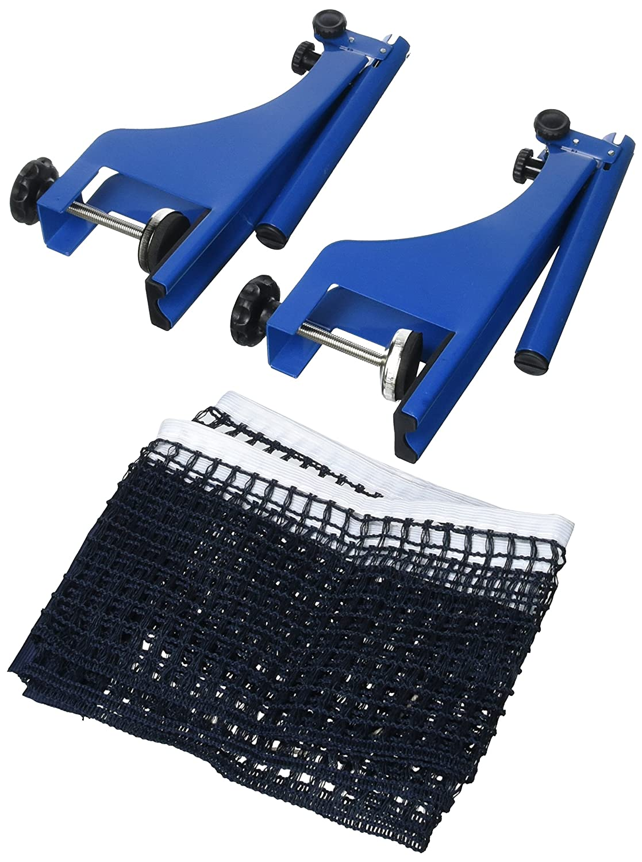 Exterior de Ping Pong Juego de /Tenis de Mesa Red M Color Azul y Negro Relaxdays/ H x B x T: 19,2/x 173/x 5/cm Tornillos de Bloqueo