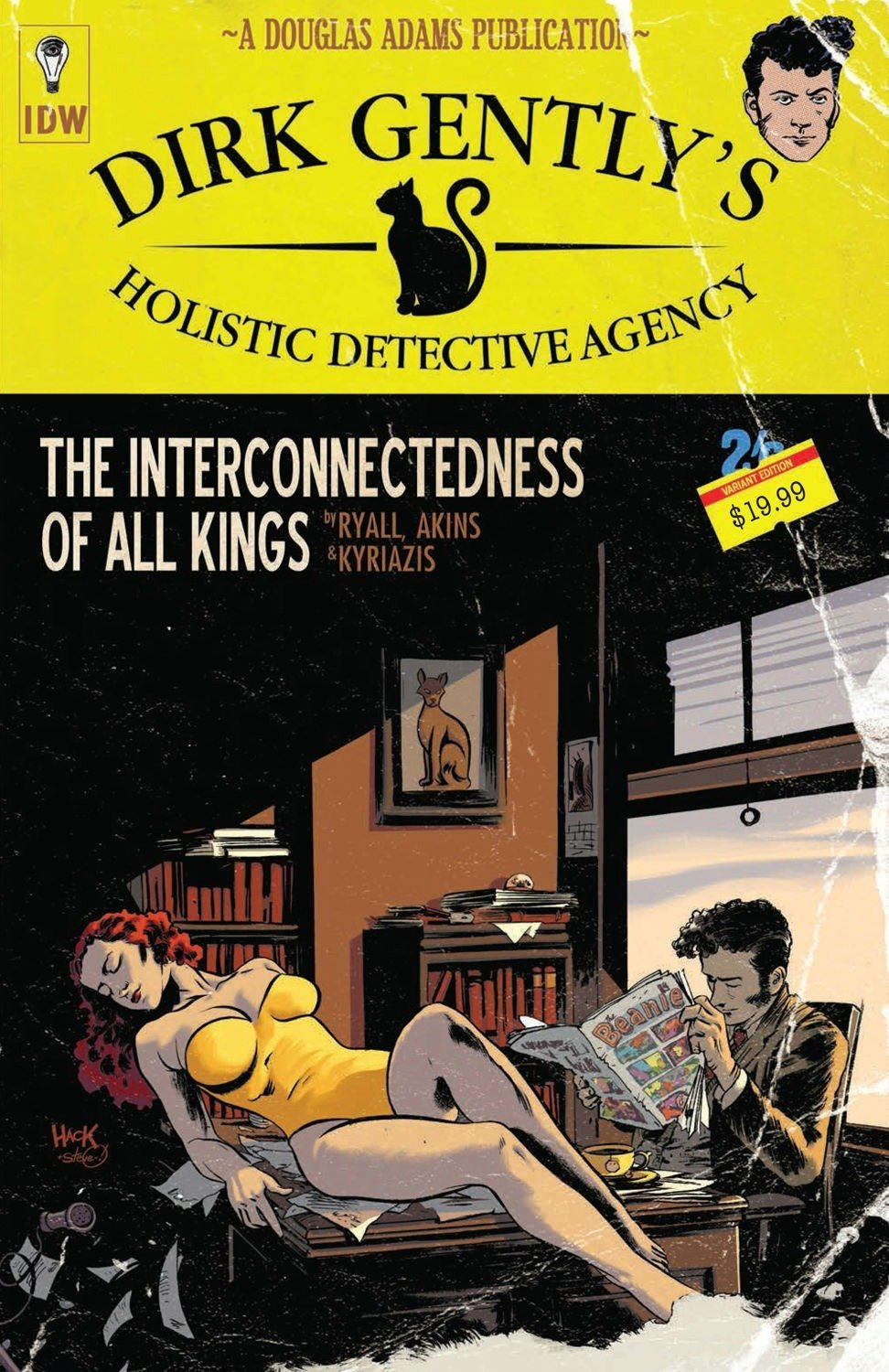 Dirk Gently's Holistic Detective Agency: The Interconnectedness of All Kings by IDW Publishing