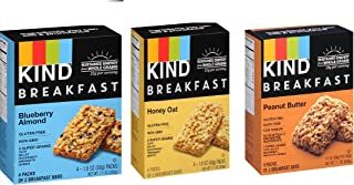 product image for KIND Breakfast Mix, 4 count each (Variety Pack of 3)