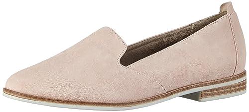 Tamaris 24208, Mocasines para Mujer, Rosa-Pink (Rose 521), 36 EU: Amazon.es: Zapatos y complementos