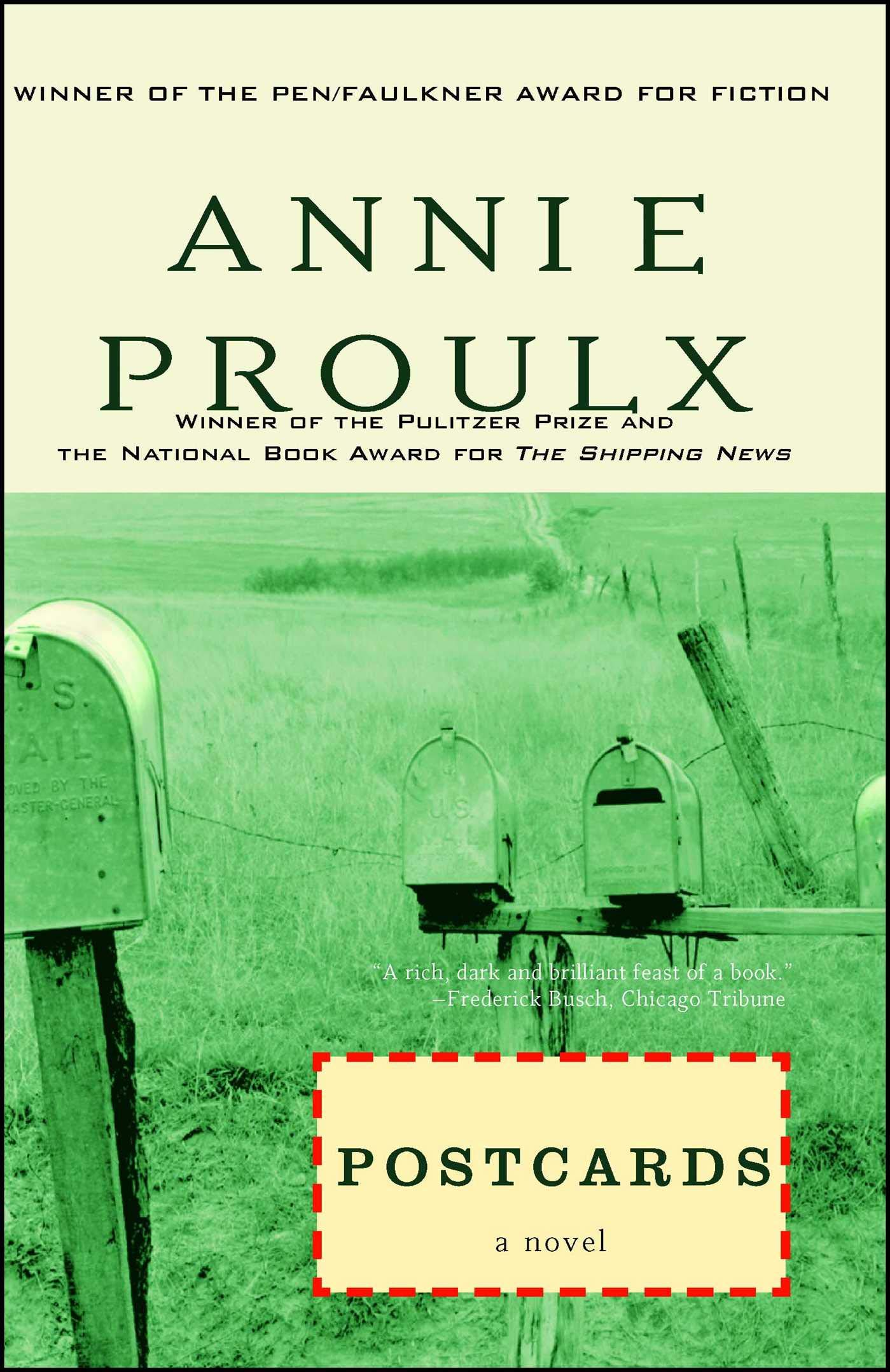 Amazon Postcards 9780684800875 E Annie Proulx Books