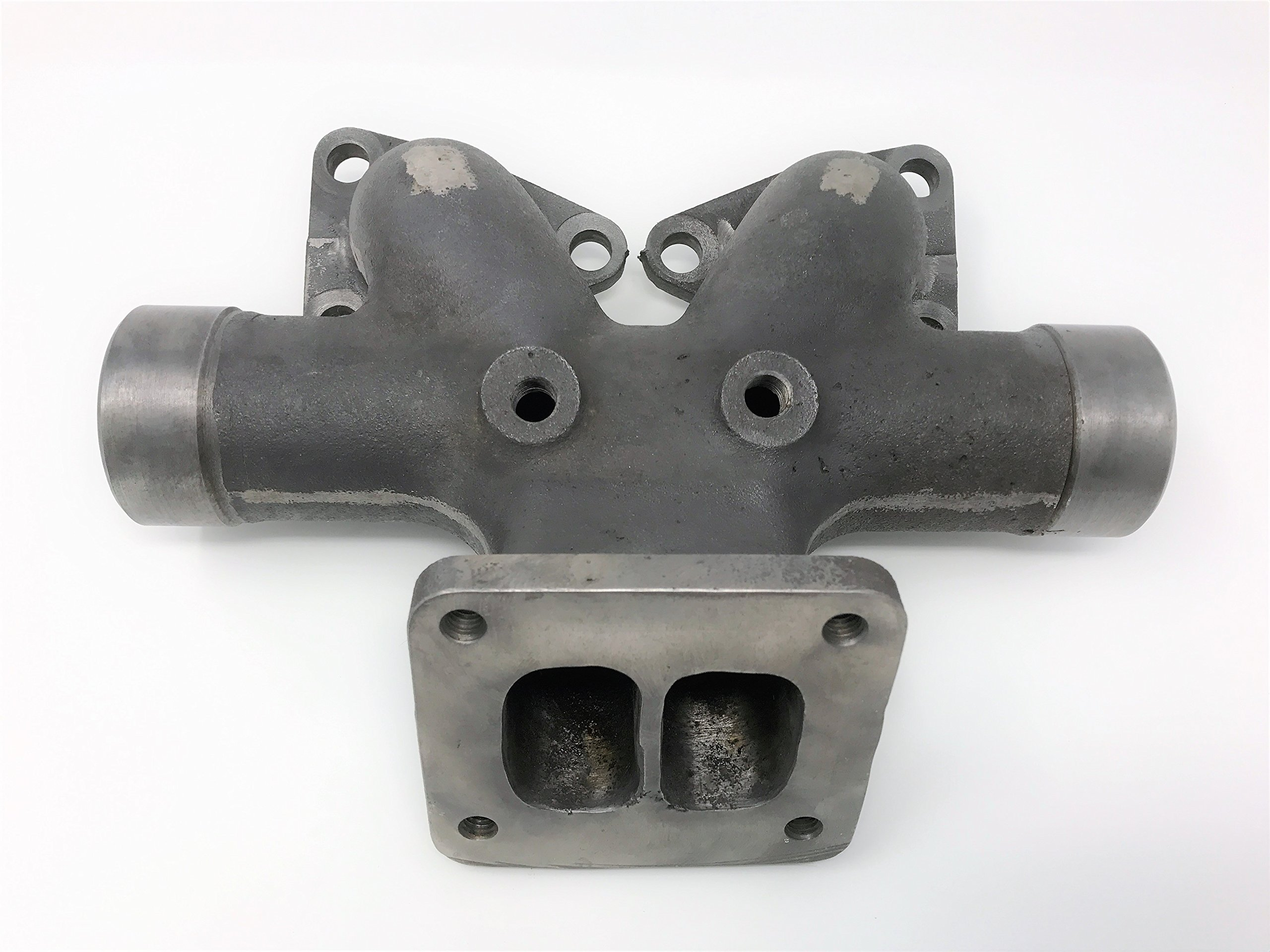 670081C1 Center Exhaust Manifold for Dresser, International, Hough Tractors with DT429 Diesel Engine by FP Smith Parts