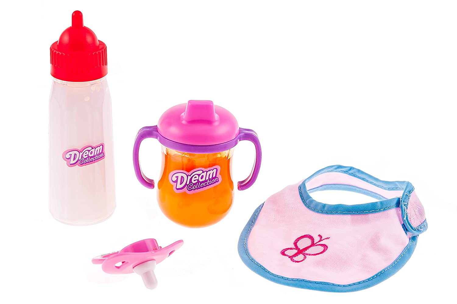 Dream Collection Doll Feeding Time Set with Pacifier Hasbro - Import 63126