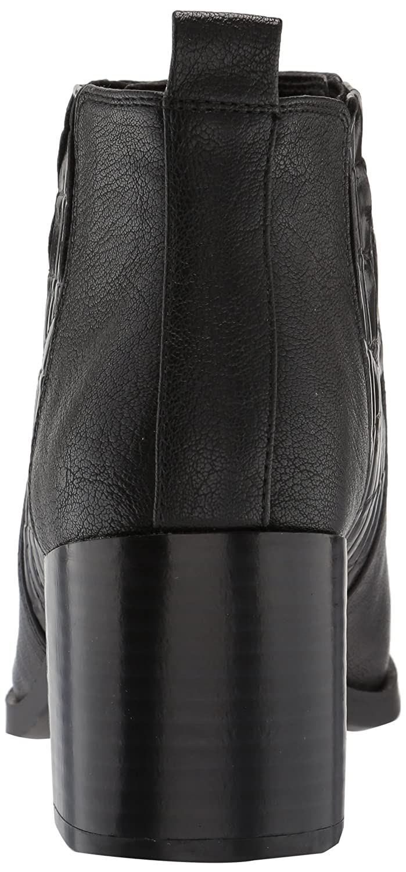 Nine Ankle West Women's Walburga Synthetic Ankle Nine Boot B071S44SZS 9.5 B(M) US|Black/Black 5f494d