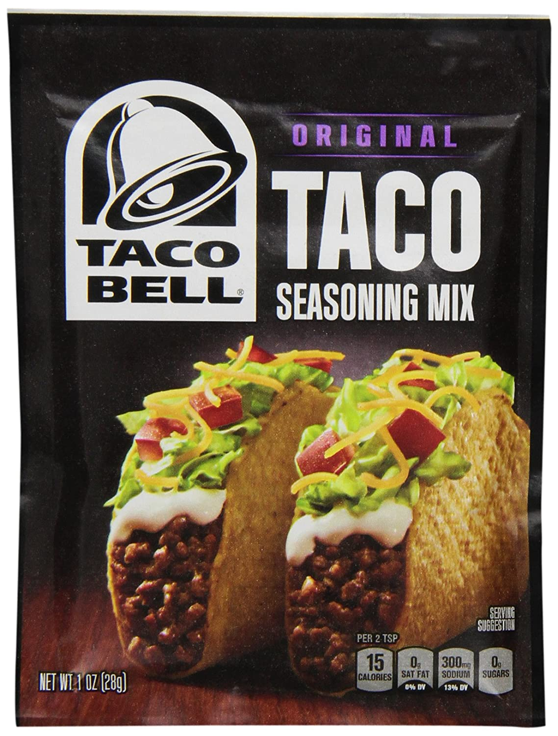 Taco Bell Seasoning Mix, Taco, 1-Ounce (Pack of 24): Amazon.es: Alimentación y bebidas