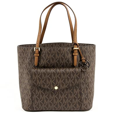 cdececb0db51 Michael Kors Jet Set Item Large Pocket Multifunciton Tote Bag Purse Handbag   Handbags  Amazon.com