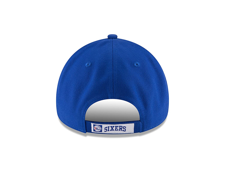 the latest 4358d e808b New Era Men s The League 9Forty Philadelphia 76Ers Cap, Blue, One Size   Amazon.co.uk  Sports   Outdoors