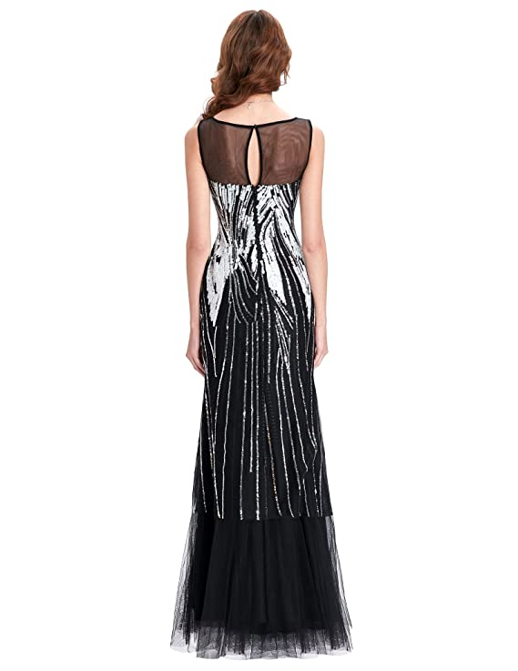 3cc511f2a Vestido fiesta boda dama madrina desde talla 34 a 50  Amazon.es  Ropa