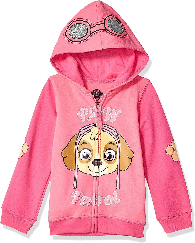 Paw Patrol Skye Toddler Girl Hoodie: Clothing