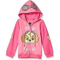 Chamarra con capucha para niña Nickelodeon