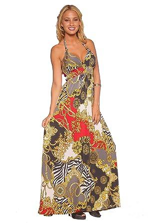 16e01b4759 Designer Maxi Cocktail Evening Halter Party Dresses Dress H1270 Gold ...